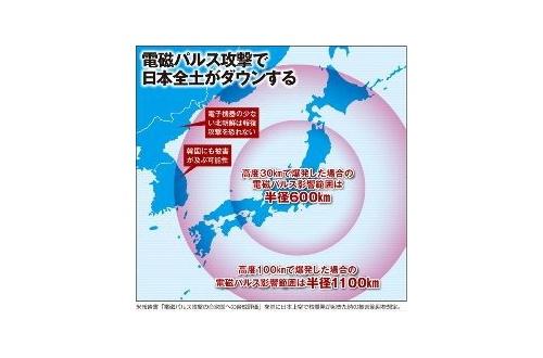 【悲報】 北朝鮮さん、突然「電磁パルス攻撃」に言及し始めるのサムネイル画像