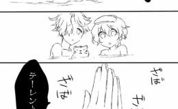 【刀剣乱舞】鶴丸「お風呂で短刀の子にちょっと悪戯したら、すごく怒られた…」【漫画】