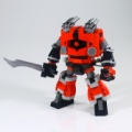 LEGOで「ゾゴック」完成しました!