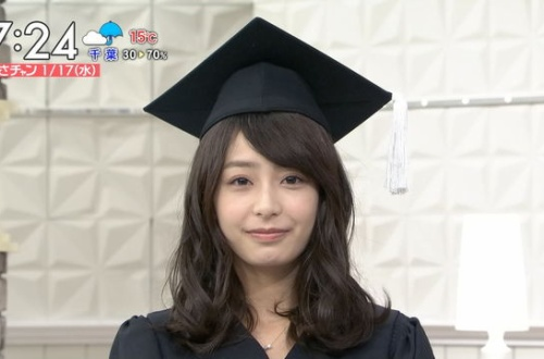 TBS宇垣美里アナ(26)が博士のコスプレ 可愛いと話題にのサムネイル画像