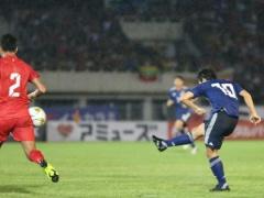 2022W杯予選【 日本代表 vs ミャンマー 】前半終了!中島・南野のゴールで日本が2-0とリード!