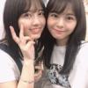NGT48本間日陽さん、大和田南那さんとツーショットで人気回復を狙う…