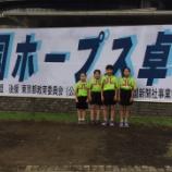 『第35回全国ホープス卓球大会 結果 【 仙台ジュニア 】』の画像
