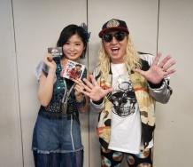 『DJ KOO親子が加賀楓のバースデーイベントに参戦!!』の画像