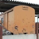 『放置貨車 西武鉄道ワフ1形車番不明車』の画像