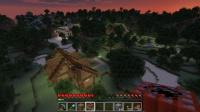 西大陸に木製の民家を作る
