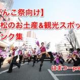 『がんこ祭で浜松に来た踊り子さんたち向け!浜松の観光・お土産情報まとめ』の画像
