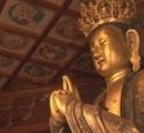 【画像】五郎丸ポーズに似た仏像 高校生が必勝祈願