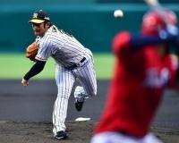 【阪神】岩田 広島戦5年ぶりの勝利 6回2安打1失点「自分の投球ができた」