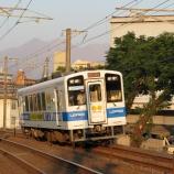 『肥薩おれんじ鉄道 HSOR-100形106 ローソン号 in 鹿児島』の画像