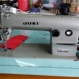 『【80歳のおばあさんにJUKI製DDL-227 本縫いミシンの中古をお届けしました】まだまだ頑張って洋裁をするそうです!』の画像