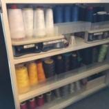 『糸整理棚、再利用』の画像