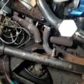 100Vアーク溶接で【V8エキゾーストマニホールドつくろう👌】DRAGサニーガレージ的シボレースモールブロックエンジンチューニング