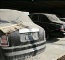 【画像】ロールスロイスやフェラーリなど大量の高級車が野ざらで放置される