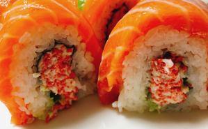 「一風変わったロール寿司」の店