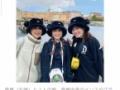 【即ハボ】森尾由美ちゃん(55)、娘2人との3ショットが三姉妹にしか見えないwxywxywxywxywxywxywxx
