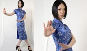 【体術】   日本人女優による 八極拳 のモーション画像が 美しい・・・。   海外の反応