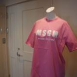 『MSGM(エムエスジーエム)ビッグシルエットロゴTシャツ』の画像