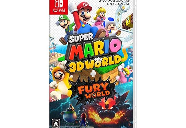 『スーパーマリオ 3Dワールド + フューリーワールド』25万本の売上