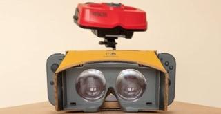 『Nintendo Labo: VR Kit』の中にバーチャルボーイが発見される!『マリオズテニス』をプレイ