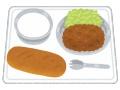 【悲報】緊急事態宣言解除後の学校給食wwwww(画像あり)