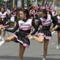 2018年横浜開港記念みなと祭国際仮装行列第66回ザよこはまパレード その48(横浜市立みなと総合高等学校吹奏楽部・チアダンス部)