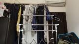 部屋の中に洗濯物干すやつ買ったったwww(※画像あり)