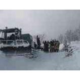 『オフピステチャレンジ1 午後からは雪上車で山へ1』の画像