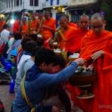 『【リアルタイム】ミャンマーの歪んだ托鉢?』の画像
