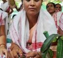 【画像】村民が雨乞いのためトノサマガエルの結婚式を挙げる→雨が降る