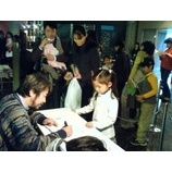 『満員御礼!劇団円の「あらしのよるに」 サイン会と打ち上げ』の画像
