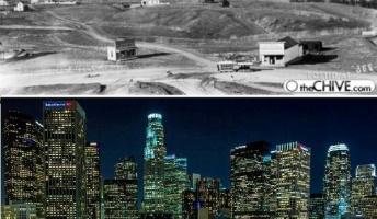 荒野が近代都市に…!写真で見る世界の大都市の『昔と今』25選