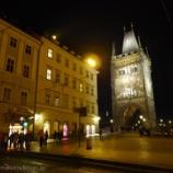 『チェコ旅行記32 プラハの夜景を見るなら旧市街橋塔!光り輝くカレル橋とプラハ城が美しい!!』の画像
