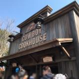 『小さなワゴンから成功を収めた西部開拓時代の事業者とその店、カウボーイ・クックハウス。』の画像