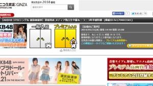 【第6回AKB48選抜総選挙】ニコニコ生放送で速報発表を生中継!!