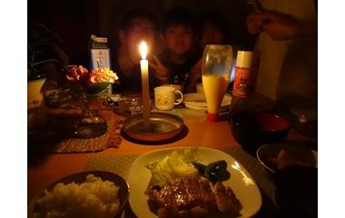 『台風4号、停電被害続く』の画像