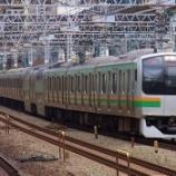 『【東海道線のレア車両】E217系湘南色』の画像