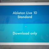 『Ableton live10 導入しました』の画像