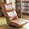 国内の工房で丁寧に仕上げられた高級感ある座椅子です。