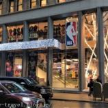 『ニューヨーク旅行記4 NBA Storeに行ったけど何も買いませんでした』の画像