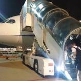『【ANA】バンコク行NH877ビジネスクラス搭乗記 ~NH849と違い沖止め!シートも、ゆりかごシートです~』の画像