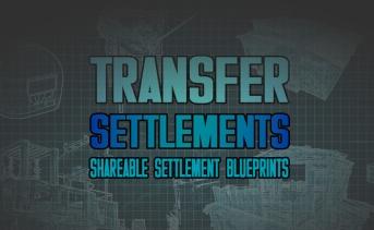 自作の居住地を入出力できるMOD『Transfer Settlements』