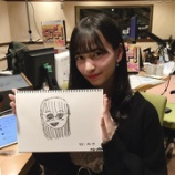 『【乃木坂46】目がバッキバキ・・・金川紗耶が描いた大園桃子がヤバすぎる・・・』の画像