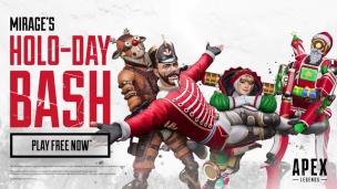 『【すでにプレイ可能】ミラージュイベント「HOLO-DAY BASH」開催【Apex Legends】』の画像
