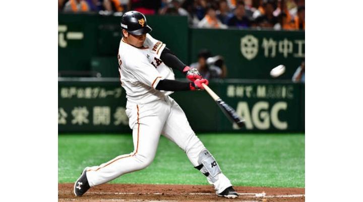 巨人・岡本和真【 2018.8.16 】打率.305(416-127) 22本  68打点