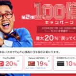 『【第2弾】PayPay100億円キャンペーン開催!Yahoo!JAPANカードとの併用が圧倒的オトク。』の画像