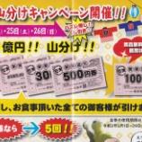 『総額1億円びっくり 山分けキャンペーン!』の画像