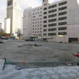 『【悲報】ついに松菱跡地が更地に…しかし再開発ビルの着工はまたも遅れる模様。』の画像