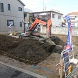『スピティ下坂部1丁目JR尼崎・地盤工事完了!!』の画像