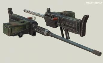 Wasteland Melody's Heavy Machine Gun